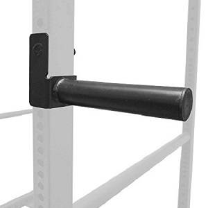 Power Rack 2-3/8in Cage Weight Plate Storage Holder Horn Peg pr.