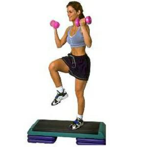 The STEP Original Aerobic Cardio Bench Adjustable Low Impact