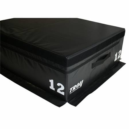 Troy Soft Plyo Plyometric PlyoBox Stackable Jump Box T-PLYO-12