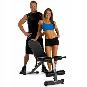 Troy Renegade Flat Incline Decline Utility Weight Bench GWS-FID