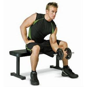 Troy Renegade Flat Utility Dumbbell Free Weight Gym Bench GWS-FB
