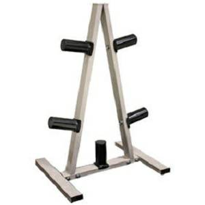 Troy Barbell Olympic Weight Plate Tree A Frame Storage Rack GOSR