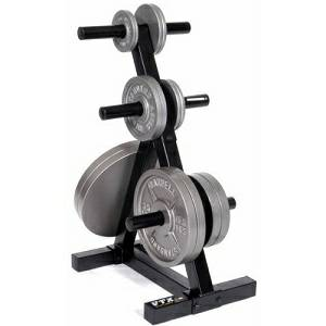 Troy Barbell VTX Olympic FreeWeight Plate Tree Storage Rack TOPT