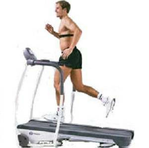 Tunturi J550 J 550 Walk Thru Design Cushion Cardio Treadmill