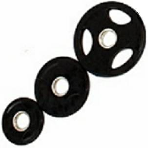 USA Olympic Rubber Coated Grip Plate Free Weight Plates Set 35#
