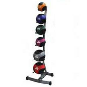 VTX 6 Tier Medicine Ball Balls Vertical Storage Rack Stand GMBR6