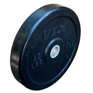 VTX Olympic Rubber Bumper Bounce Free Weight Plate Plates 45#