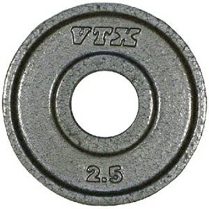 VTX Troy Barbell Olympic Weight Lifting Grip Plate 2.5 lb GO-002