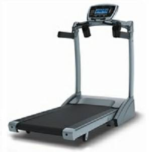 Vision Fitness T9550 Folding Treadmill with Orthopedic Soft Belt