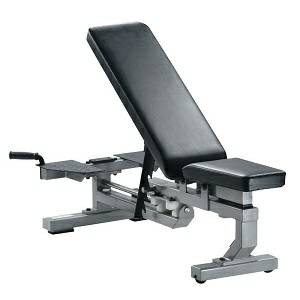 York Barbell Gym Multi Function Flat Incline Utility Bench 55004