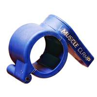 "Muscle Clamp Clamps Quick Release Collar Collars Olympic 2"" Blue"