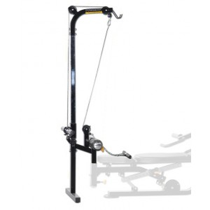 PowerTec Lat PullDown Tower Upper Lower Pulley Accessory WBLTA