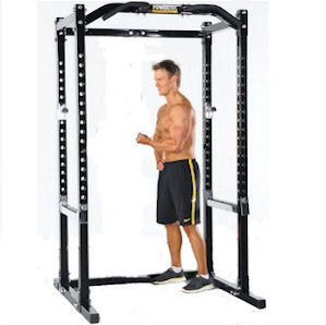 PowerTec Tec Power Squat Rack CrossFit Gym Safety Cage WB-PR15