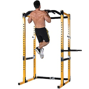 PowerTec Tec Power Squat Rack CrossFit Gym Safety Cage WB-PR16