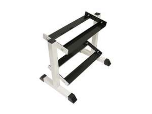 "Troy Dumbbell Dumbell 2 Tier Storage Rack Horizontal 28"" GHDR5"
