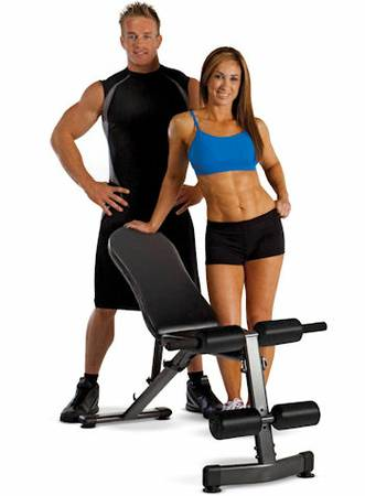 Troy Barbell Renegade Flat Incline Decline Utility Weight Bench
