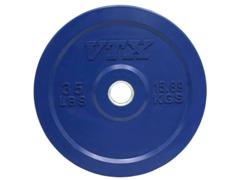 VTX Olympic Colored Rubber Bumper Free Weight Plate Plates 35 lb