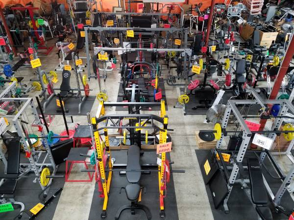 Fitness Gym Equipment Supply Depot Dallas McKinney Exercise Home